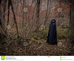halloween background black dark figure in the forest 3 stock photo image 45597998