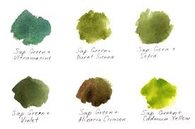 shades of green paint 3 ways of painting shades of green watercolor