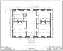 Wayne Home Floor Plans First Floor Plan Of Dey Mansion In Wayne New Jersey North