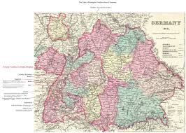 Black Forest Germany Map by Taylor Graham Library