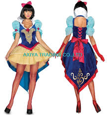halloween costumes snow white 2017 deluxe snow white costumes velvet dress with lace