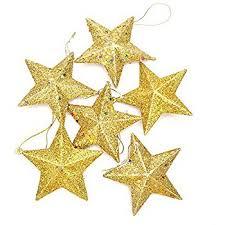 haotfire tree hanging gold silver glitter