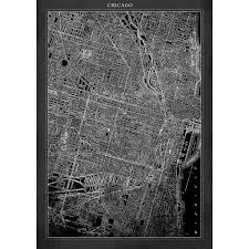 L Map Chicago by Chicago Map 20