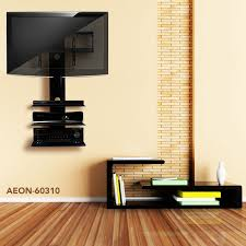 Wall Mount Bookcase Tv Wall Mount With Three Shelves Tv Mounts Av Express