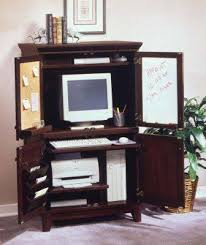 Computer Armoire Office Decorating Ideas