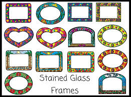 gallery clipart stained glass clipart border pencil and in color stained glass