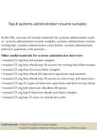 top 8 systems administrator resume samples 1 638 jpg cb u003d1430100043