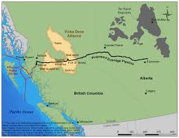 Spirit Route Map by Northern Gateway Setback Could Mean Opportunity For Aboriginal