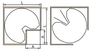plateau tournant meuble cuisine panier tournant meuble cuisine photos de design d intérieur et