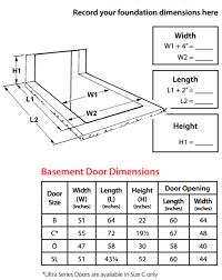 Install Basement Door by Bilco Classic Series Basement Door With Steel Walls Window Well