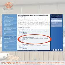Apply Universal Postal Union International Letter Writing Pos Indonesia On Upu Universal Postal Union Dlm