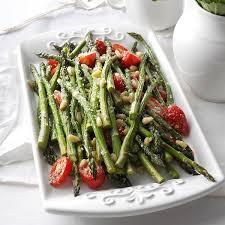 tuscan style roasted asparagus recipe taste of home