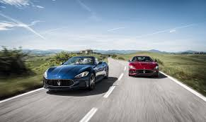 maserati maserati fans maserati finally details 2018 granturismo and grancabrio in new