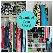 organized teen closet organize and decorate everything for the