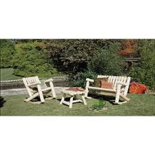 Log Outdoor Furniture by Rustic Natural Cedar Furniture Wayfair