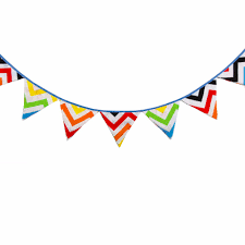 Banners Flags Pennants 2 8m Rainbow Style Garland Party Pennant Flags Banners Birthday