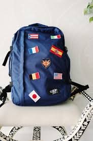 Flag Backpack Howtopack The Cabin Zero 44l Backpack For A Week Long Trip