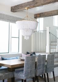 beaded chandelier ceiling lighting home decor