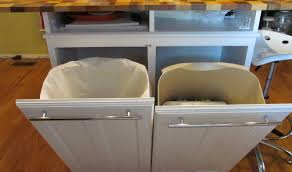 kitchen trendy hidden kitchen trash cans amazing kitchen trash