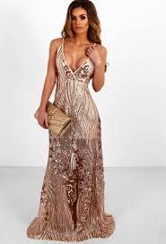 gold maxi dress saphira gold sequin split maxi dress dressi