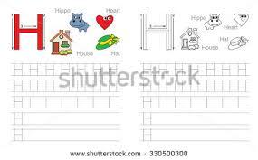 letter l learn handwriting stock vector 348055742 shutterstock