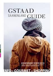 gstaad saanenland guide winter 2017 18 by mdruck mdruck issuu