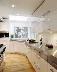 Kitchen Corner Sink by Modern Kitchen With Stainless Steel Countertops Also Corner Sink