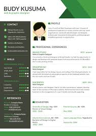 Word Resume Template 2014 Stunning The Best Cv Resume Templates 50 Examples Design Shack
