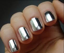 nail nails amazing colorful silver nail metallic