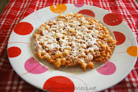 Plate Decorating Ideas For Desserts Funnel Cake Recipe Mess For Less