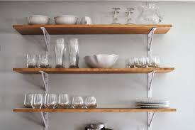 kitchen fancy wooden kitchen wall shelves home design decorative