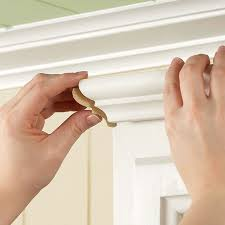 Crown Moulding For Kitchen Cabinets Crown Molding Installation On Kitchen Cabinets House Exterior