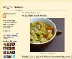 blogue de cuisine les blogs