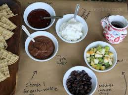 toppings bar how to set up a waffle bar in 3 easy steps fn dish behind the