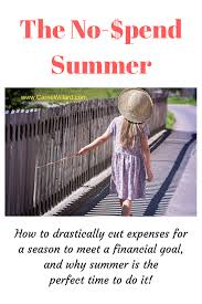 The Challenge How To Do It No Spend Challenge This Summer It S On Carrie Willard