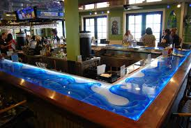 glass counter tops artistry in glass mulligans beach house lake