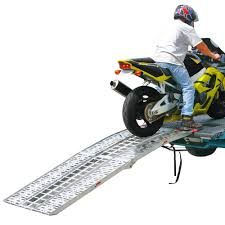 motocross bike trailer 3 piece folding arched motorcycle ramp 7 u00275