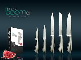 professional kitchen knives set 03 6 stainless steel professional kitchen knife set