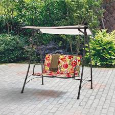 porch swings walmart red com 4 outdoor patio swing cover 8