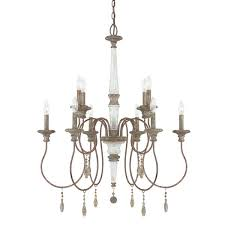 Chandelier Company Austin Allen U0026 Company Zoe Collection 10 Light French Antique