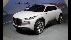 suv of hyundai hyundai kona intrado concept suv could be revealed debut at the