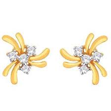 d damas gold earrings d damas gold diamond earrings dde02326 gold earrings