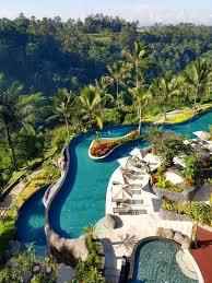 bali u0027s longest infinity pool at padma resort ubud ubud infinity
