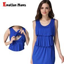 nursing clothes emotion summer maternity clothing maternity dress soft