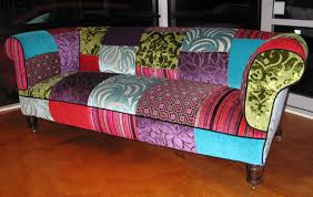 The Range Living Room Furniture Rolled Arm Sofa Covered In A Patchwork Sle Of Our Fabric Range
