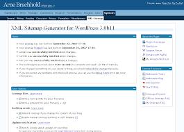 Site Map Google Xml Sitemaps Generator For Wordpress