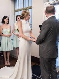 Halter Wedding Dresses Vera Wang White By Vera Wang High Neck Halter Wedding Dress