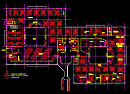 cad building template 2700sqm office floor layout 2
