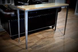 Modern Entry Table by Entry Table U2013 Drop Mount Maple Urban Industrial Works
