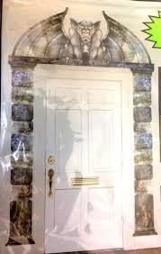 halloween prop building supplies creepy gothic gargoyle door surround scary haunted house scenery